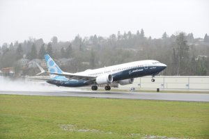 Décollage du 737 MAX