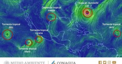 Amenaza 'Lorena' a Jalisco, como huracán