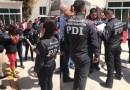 Con chalecos blindados, así fueron trasladados los presuntos asesinos de Fátima