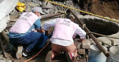 Colabora DIF en tareas de rescate en Montitlán