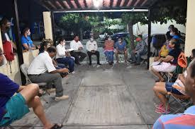 Reunión con habitantes de la colonia Real Centenario de Villa de Álvarez