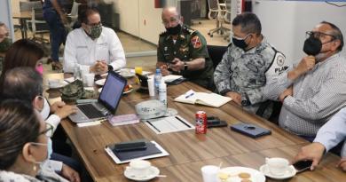 Luego de inaugurar el C5i, el gobernador encabeza reunión de seguridad
