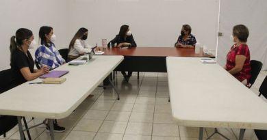 """Reunión con integrantes del patronato Casa Hogar para madres solteras """"Rita Ruiz Velazco"""""""