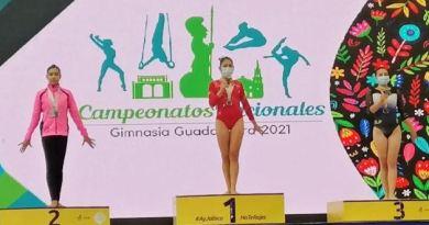 Participación de colimense en Campeonato Nacional de Gimnasia