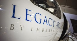 Embraer expõe o Legacy 450, pela primeira vez