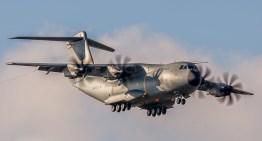 Airbus entrega primeiro A400M da RAF