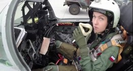 Polish Female Mig-29 Fighter Pilot