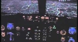 Pouso noturno em Congonhas, SP – Boeing 737-300