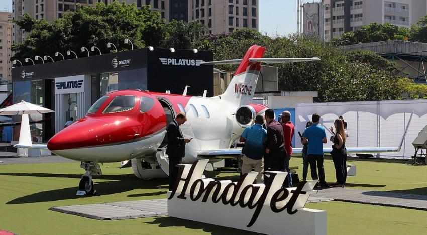 Líder Aviação levará o Honda Jet à LABACE 2016