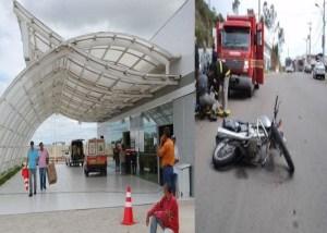 Hospital de Trauma de Campina divulga número de acidentados de moto em janeiro