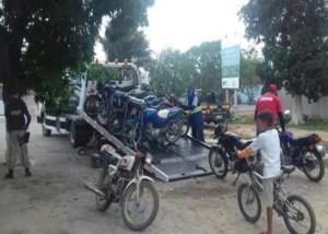 PRF faz Blitz em Cuité-PB e recolhe 15 veículos irregulares