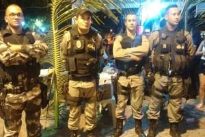 arraial policia