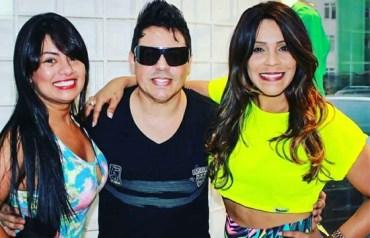 Paulinha Abelha, Daniel Diau e Silvânia Aquino.
