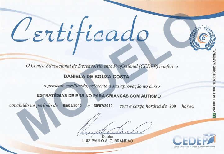 PortalEduca - Certificado - modelos de certificados
