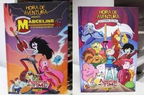 Encadernados de Hora de Aventura em oferta! +Databook One Piece, +DC/Marvel!