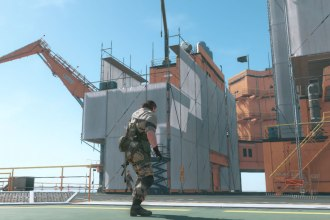 Metal Gear Solid V Motherbase