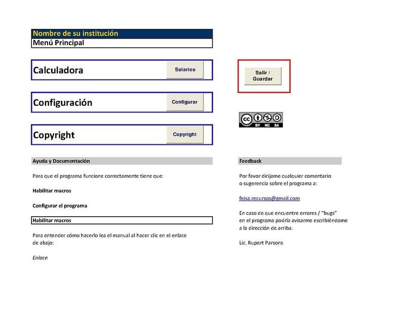 Calculadora de Sueldos y Salarios (Excel) - Opiniones, precios y demo