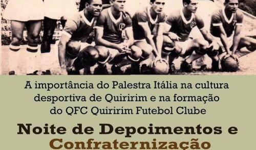 Quiririm comemora centenário da Sociedade Esportiva Palmeiras