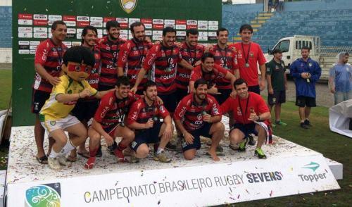 São José Rugby masculino é o terceiro melhor do país no BR Sevens