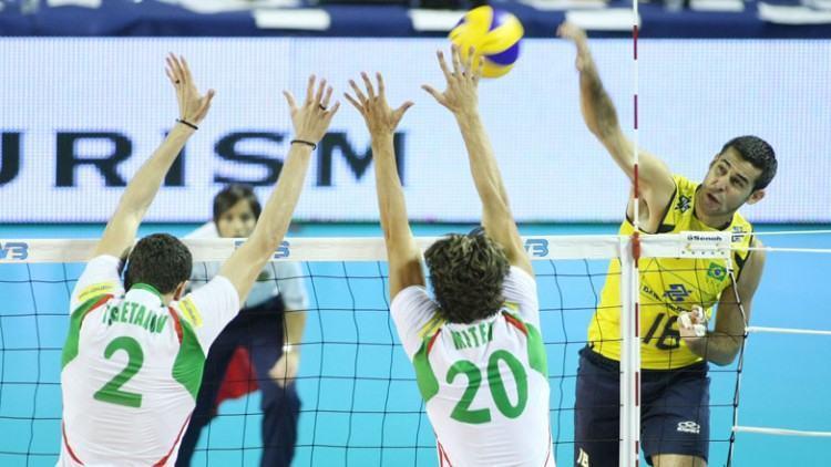 Goiano de Itumbiara, Dante acumula títulos importantes pelo Brasil, entre eles campeonatos Sul-Americanos, Mundiais, Copas do Mundo, Olimpíadas e Liga Mundial. (Foto: Divulgaçaão/PMSJC)