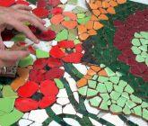 Sesc Taubaté tem oficina de mosaico decorativo