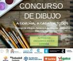"""concurso de dibujo """"A Coruña, A casa de todos"""""""