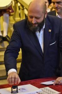 Presidente Sociedad Filatélica, Jose Luis Rey