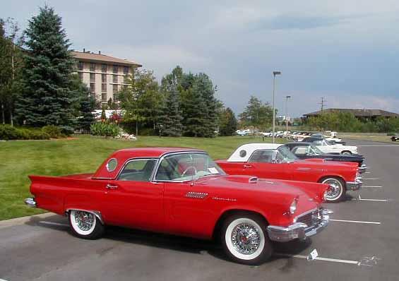 The Classic 1957 Ford Thunderbird