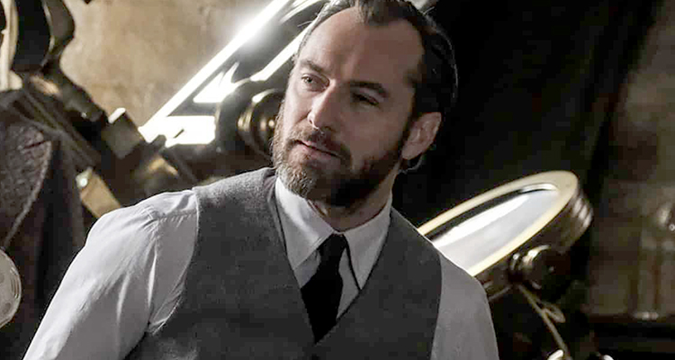 jude law silente dumbledore