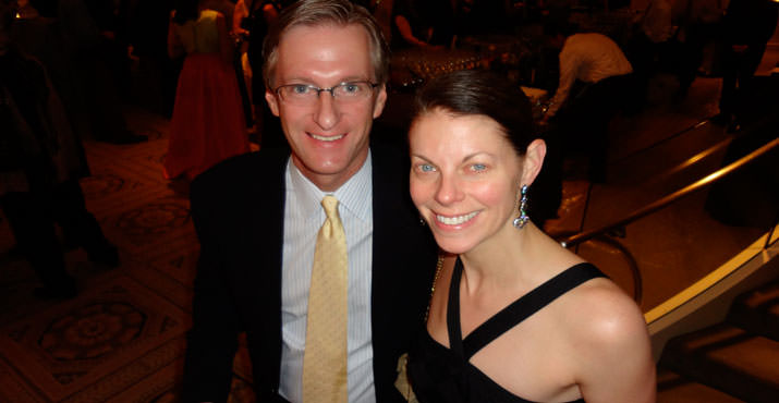 Ted Wheeler and his wife Katrina Wheeler