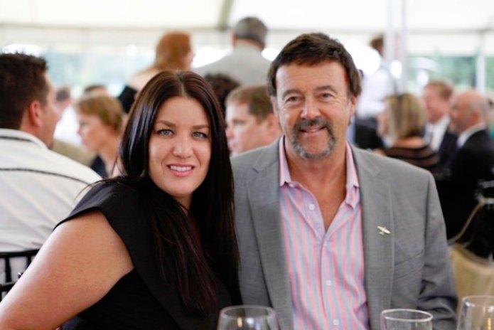 Cristina Fillinger and Emmert International founder Terry Emmert