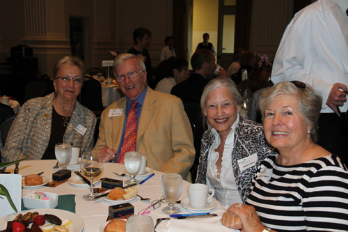Harriet Mount, Dr. Roger Alberty, Katherine Novy and Barbara Alberty.