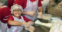 Oregon Food Bank Welcomes 548 Volunteers Who Repack 98,327 lbs of food
