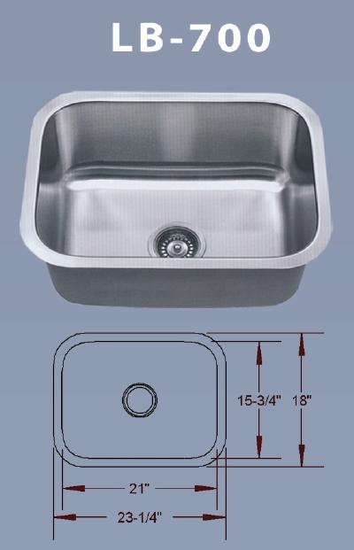 Lb 700 Bs Esi Stainless Single Rounded Rectangle
