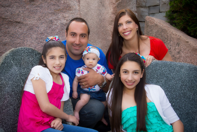 Croce Family Portrait Sterling Heights Macomb 1