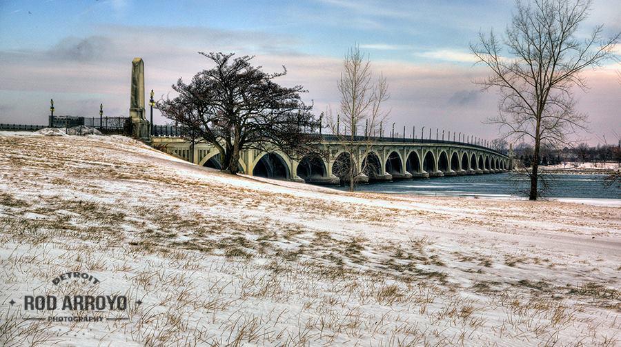 BelleIsleBridge Winter