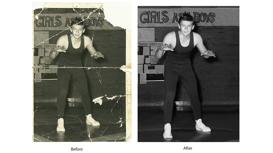 Photo Restoration Michigan