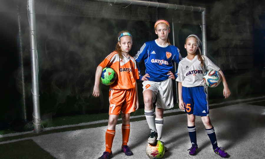 Cool Soccer Pictures - Girls