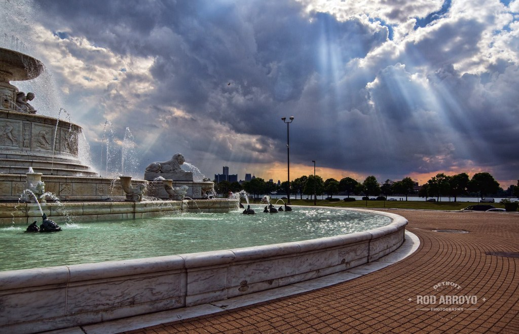 Belle Isle Scott Fountain 2014