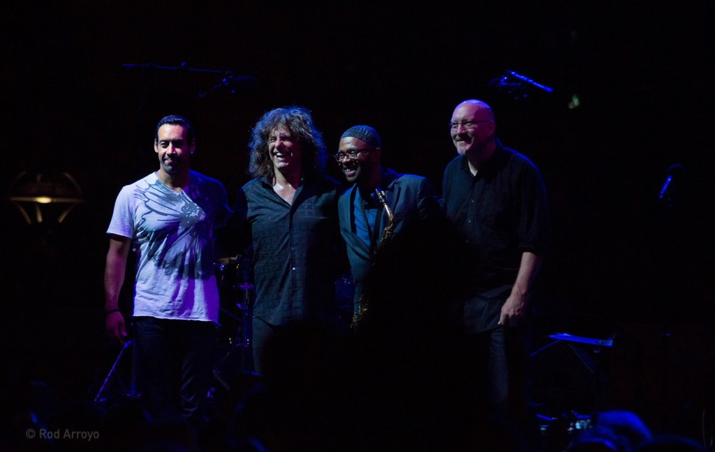 Antonio Sanchez, Pat Metheny, Kenny Garrett, and Scott Colley