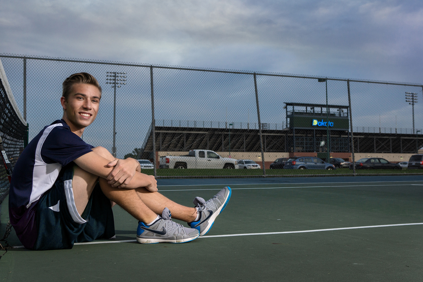 Macomb Dakota High School Senior Portraits Sports Tennis