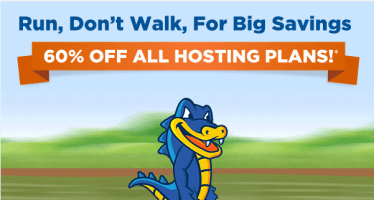 Flash promo Hostgator
