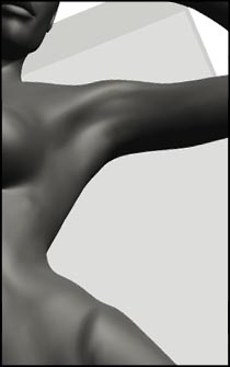 Female Standing Pose - Drawing Anatomy and Figure Reference for Artists