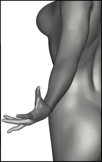 Female Magic Pose for Figure Reference and Art Anatomy Drawing