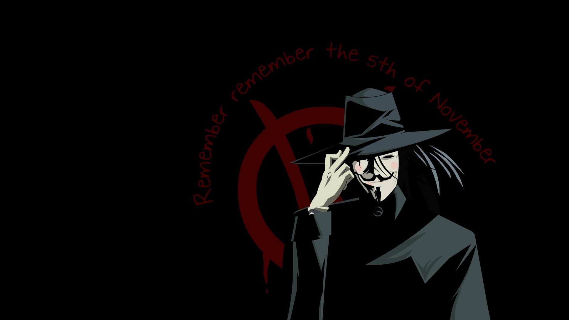 November Fall Wallpaper V For Vendetta