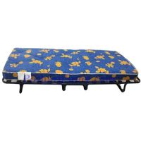 Twin Size Portable Folding Bed with Mattress