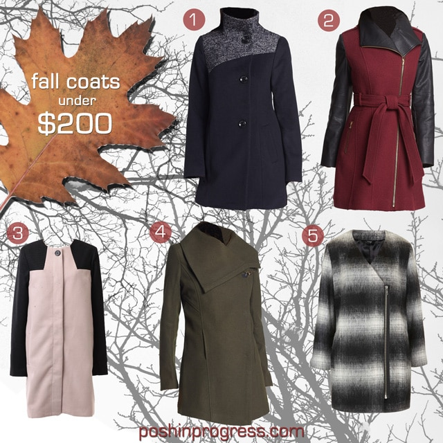 fall coats for women for under $200