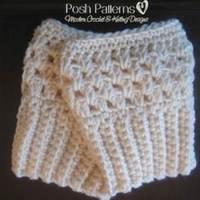 Free Crochet Pattern Elegant Boot Cuffs