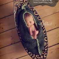 Free Pea Pod Cocoon Crochet Pattern