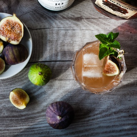 Feigen Cocktail Fig Whisky Smash Laphroaig Feige